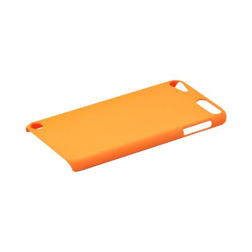 Apple iPod Touch 5 Rubberized Hard Case - Orange
