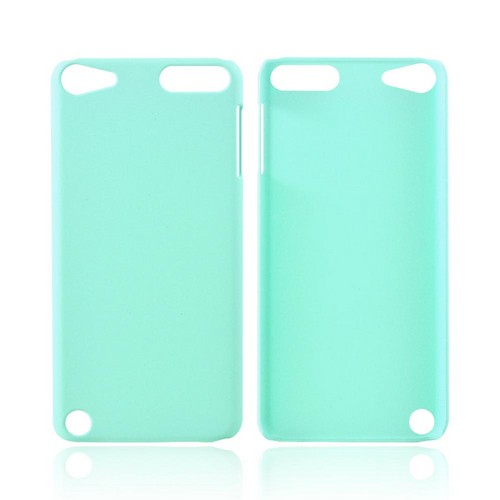 Apple iPod Touch 5 Rubberized Hard Case - Seafoam Green