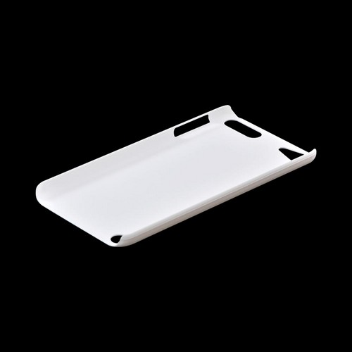 Apple iPod Touch 5 Rubberized Hard Case - White