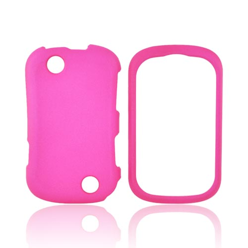 Kyocera Milano C5120 Rubberized Hard Case - Hot Pink