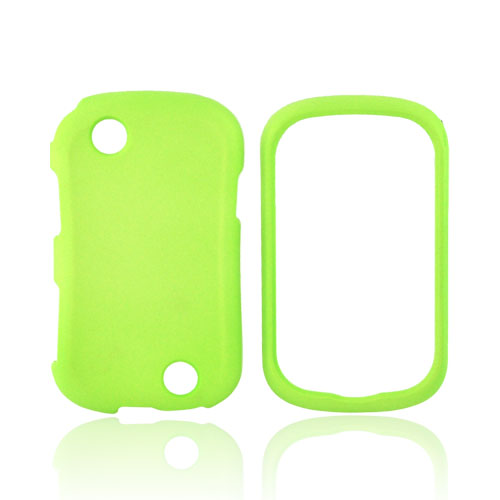 Kyocera Milano C5120 Rubberized Hard Case - Neon Green