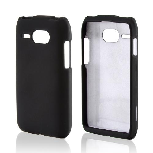 Black Rubberized Hard Case  for Kyocera Event C5133