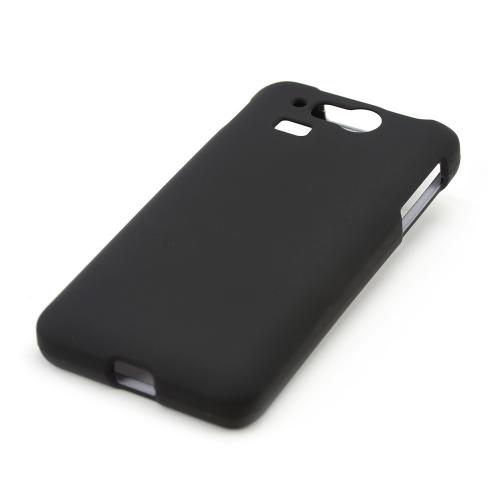 Black Rubberized Hard Case for Kyocera Hydro Elite C6750