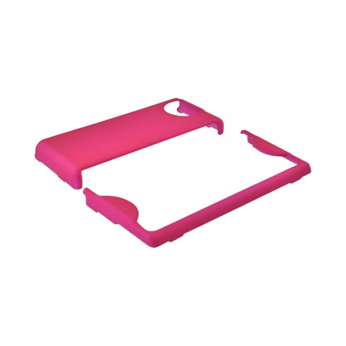 Kyocera Echo M9300 Rubberized Hard Case - Magenta
