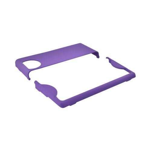 Kyocera Echo M9300 Rubberized Hard Case - Purple