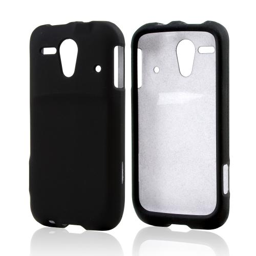 Black Rubberized Hard Case for Kyocera Hydro Edge