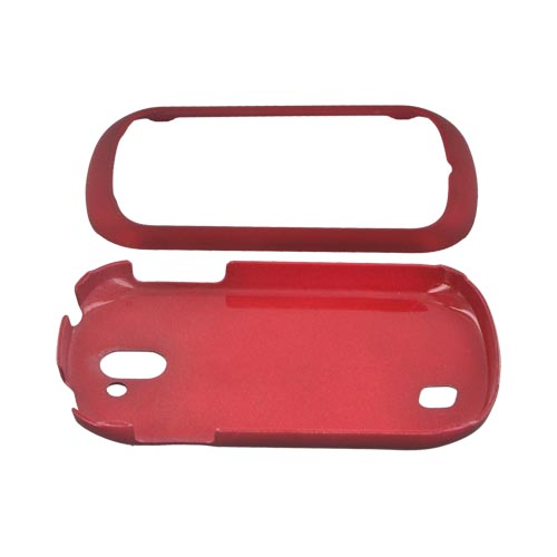 LG Doubleplay Rubberized Hard Case - Red