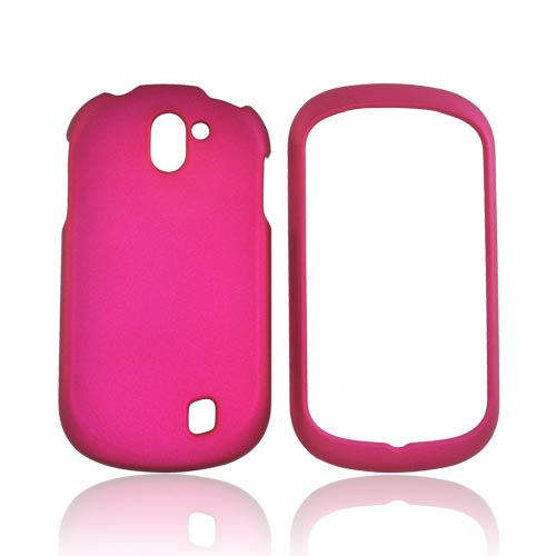 LG Doubleplay Rubberized Hard Case - Rose Pink