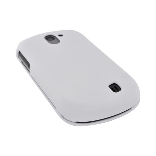 LG Doubleplay Rubberized Hard Case - Solid White