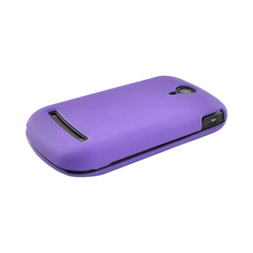 LG Quantum C900 Rubberized Hard Case - Purple