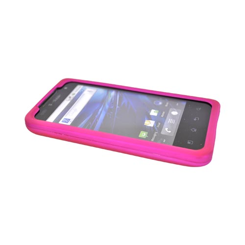 T-Mobile G2X Rubberized Hard Case - Hot Pink