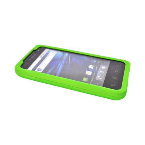 T-Mobile G2X Rubberized Hard Case - Lime Green