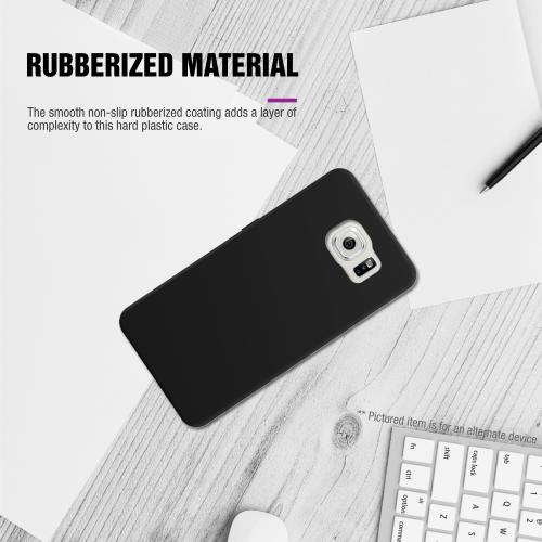 LG G4 Case, [Black] Slim & Protective Rubberized Matte Finish Snap-on Hard Polycarbonate Plastic Case Cover