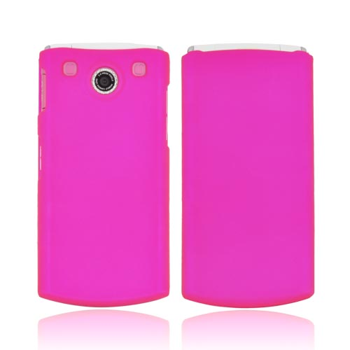 LG dLite GD570 Rubberized Hard Case - Rose Pink