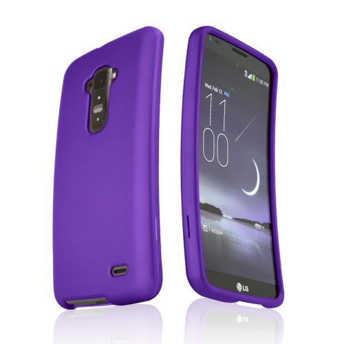 Purple Rubberized Hard Case for LG G Flex