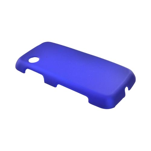 LG Prime GS390 Rubberized Hard Case - Blue