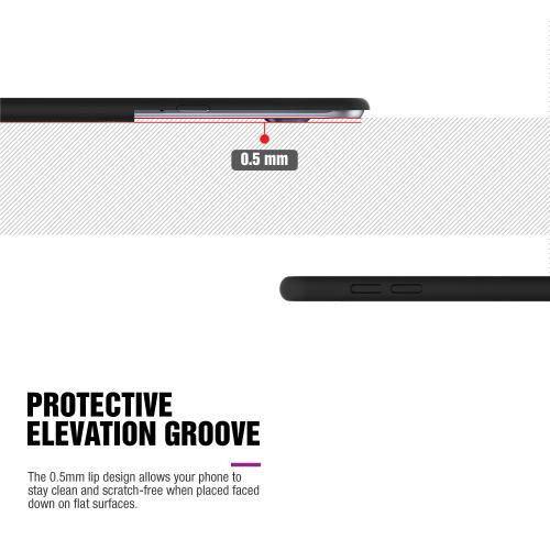 LG G Stylo Case, Black Skull Slim Grip Rubberized Matte Snap-on Hard Polycarbonate Plastic Protective Case