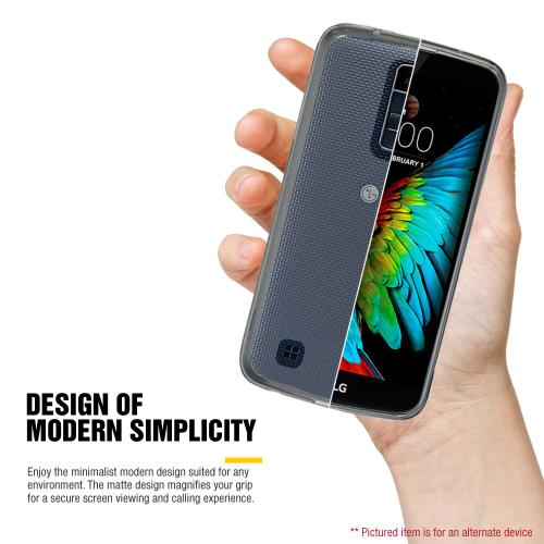 [LG K10] Case, REDshield [Blue] Slim & Protective Rubberized Matte Finish Snap-on Hard Polycarbonate Plastic Case Cover