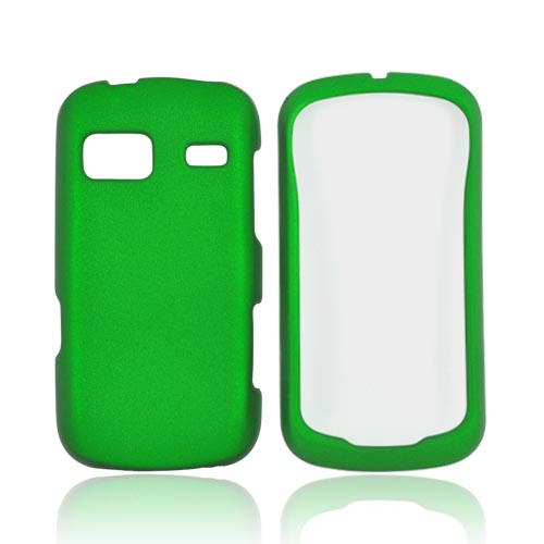 LG Rumor Reflex Rubberized Hard Case - Dark Green
