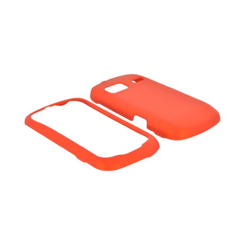 LG Rumor Reflex Rubberized Hard Case - Orange