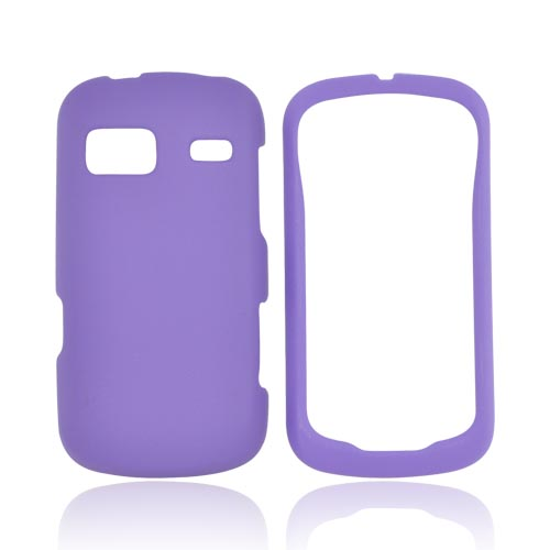LG Rumor Reflex Rubberized Hard Case - Purple
