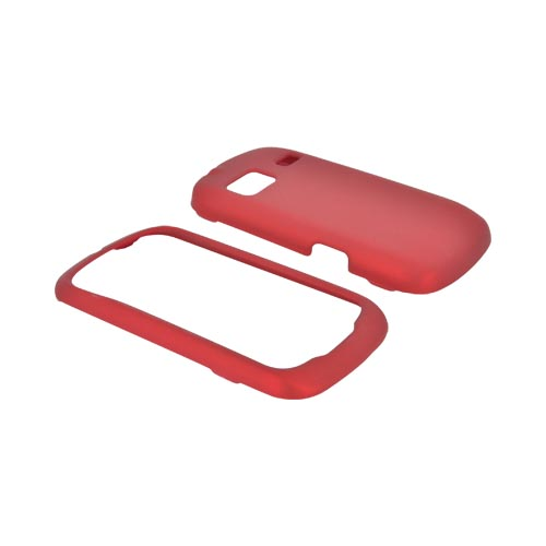 LG Rumor Reflex Rubberized Hard Case - Red