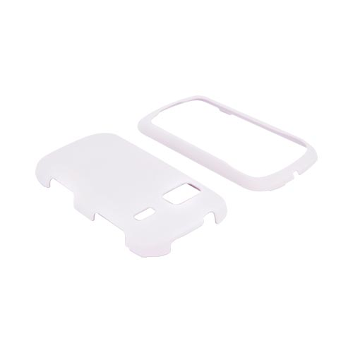 LG Rumor Reflex Rubberized Hard Case - White