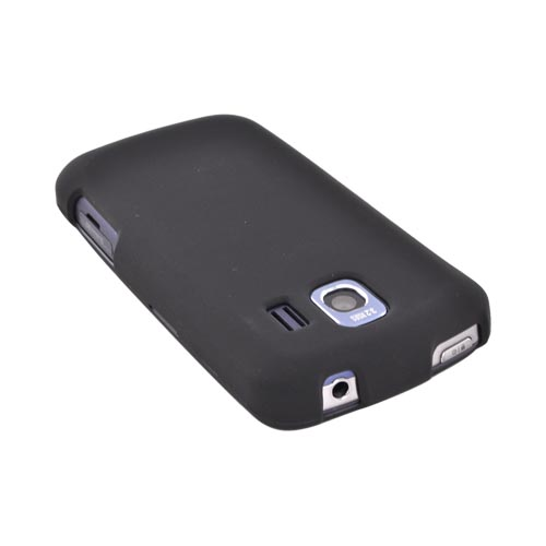LG Optimus S LS670 Rubberized Hard Case - Black