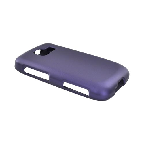 LG Optimus S LS670 Rubberized Hard Case - Purple