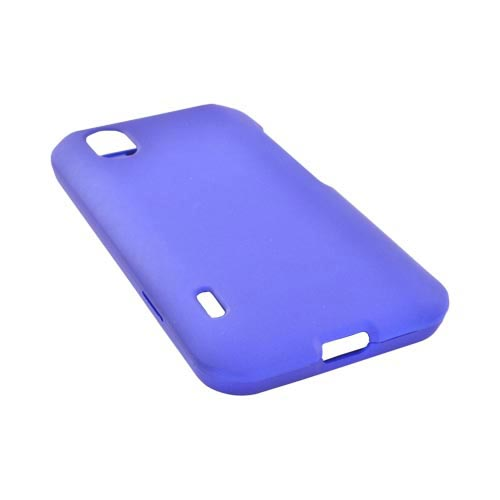 LG Marquee LS855 Rubberized Hard Case - Blue