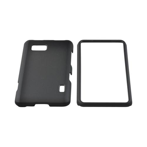 LG Mach Rubberized Hard Case - Black