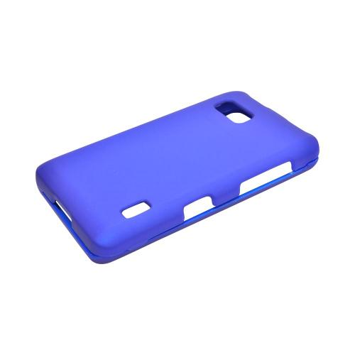 LG Mach Rubberized Hard Case - Blue