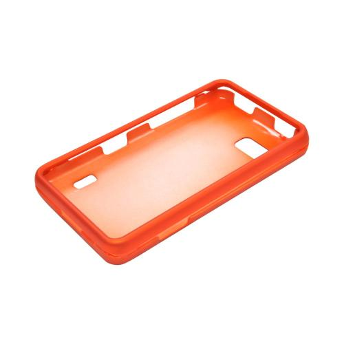 LG Mach Rubberized Hard Case - Orange