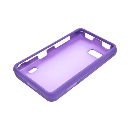 LG Mach Rubberized Hard Case - Purple