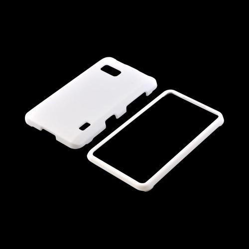 LG Mach Rubberized Hard Case - White