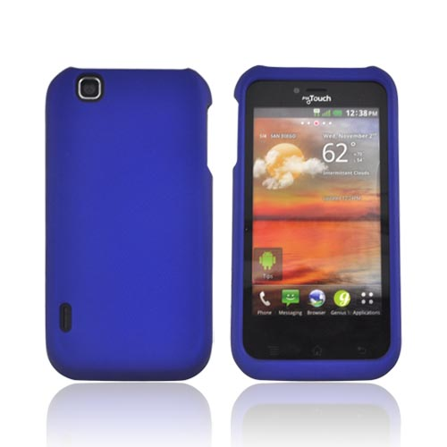 T-Mobile MyTouch Rubberized Hard Case - Blue