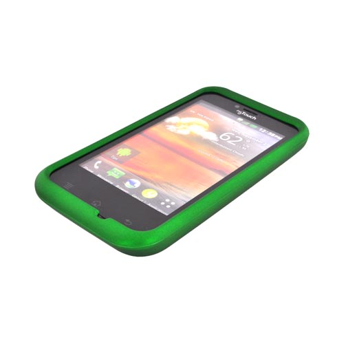 T-Mobile MyTouch Rubberized Hard Case - Green