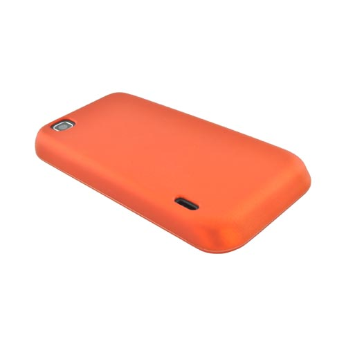 T-Mobile MyTouch Rubberized Hard Case - Orange