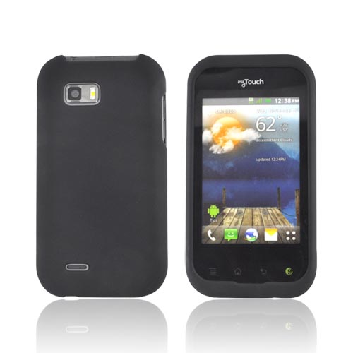 T-Mobile MyTouch Q Rubberized Hard Case - Black