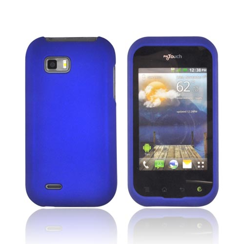 T-Mobile MyTouch Q Rubberized Hard Case - Blue