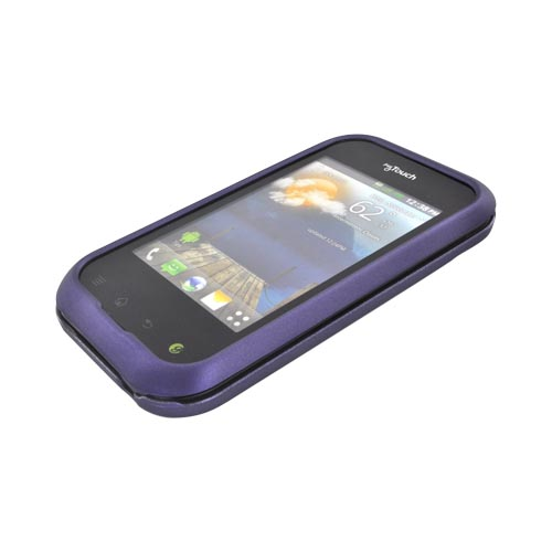 T-Mobile MyTouch Q Rubberized Hard Case - Purple
