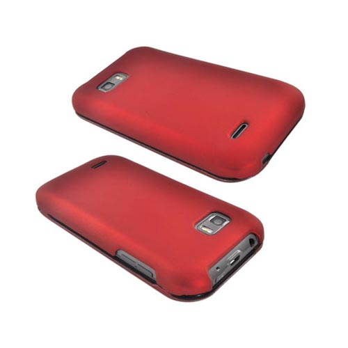 T-Mobile MyTouch Q Rubberized Hard Case - Red
