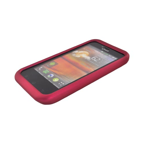 T-Mobile MyTouch Rubberized Hard Case - Rose Pink
