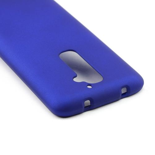 Blue Rubberized Hard Case for LG G2 (AT&T, T-Mobile, & Sprint)