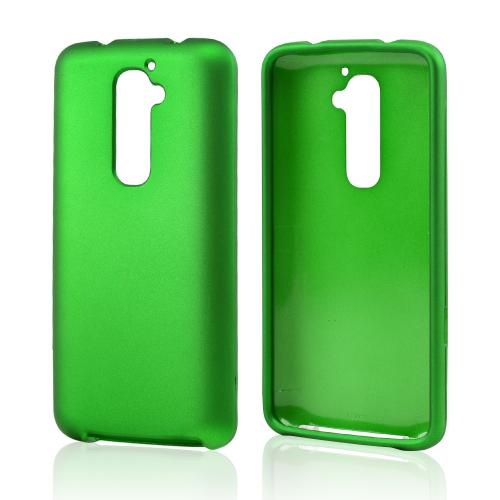 LG Green Rubberized Hard Case For G2 (at&t, T-mobile, & S...