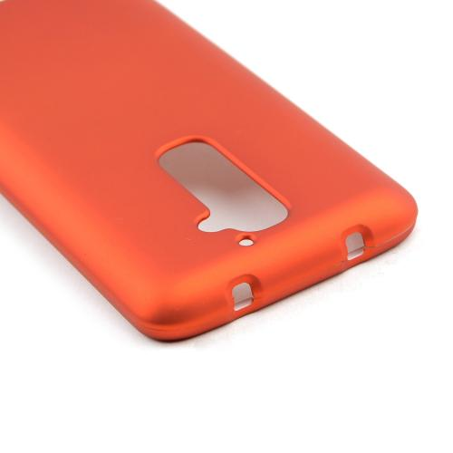 Orange Rubberized Hard Case for LG G2 (AT&T, T-Mobile, & Sprint)