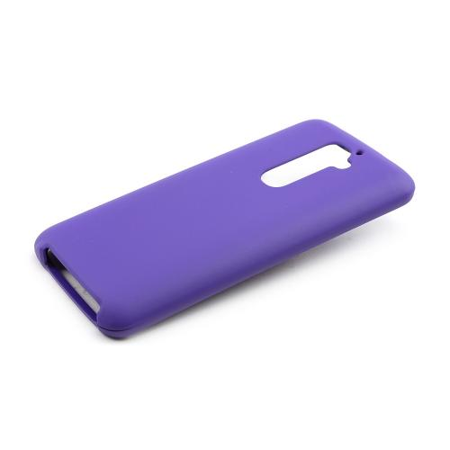 Purple Rubberized Hard Case for LG G2 (AT&T, T-Mobile, & Sprint)