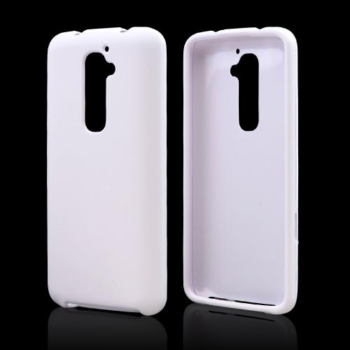 LG White Rubberized Hard Case For G2 (at&t, T-mobile, & S...