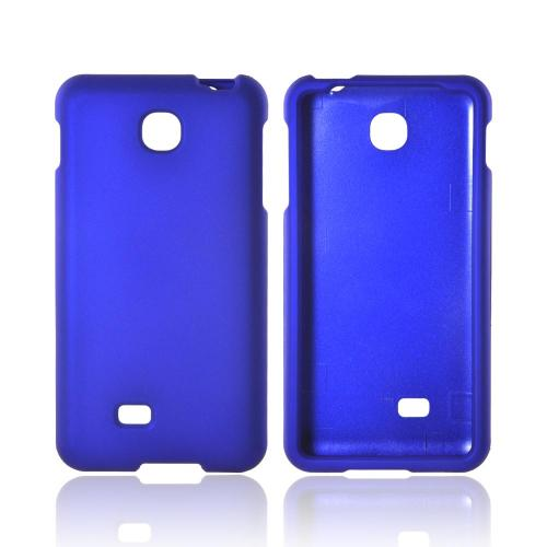 LG Escape Rubberized Hard Case - Blue