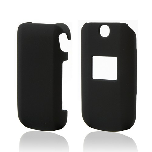 Black Rubberized Hard Case for LG Revere/ LG Revere 2